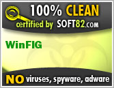 Soft82 100% Clean Award For WinFIG