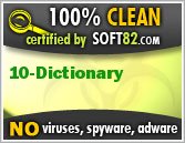 Soft82 100% Clean Award For Multiicon 10 Dictionary
