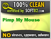 Soft82 100% Clean Award For Pimp My Mouse