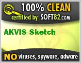 AKVIS Sketch 13.0.24 2012 إحتراف,بوابة 2013 soft82_clean_award_2