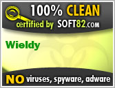 Soft82 100% Clean Award For Wieldy