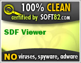 Soft82 100% Clean Award For SDF Viewer