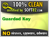 Soft82 100% Clean Award For Guarded Key