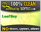 Soft82 100% Clean Award For LeafBoy