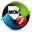 Free FLV to MOV Converter icon