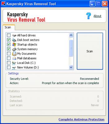 اسطوانة والطوارئ Kaspersky Virus Removal Tool اصدارته,2013 kaspersky-virus-remo