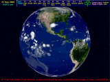 3D Earth Screensaver screenshot