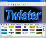 3D FontTwister text & button maker screenshot
