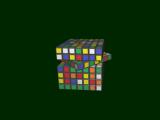 3D Rubik's Screensaver screenshot