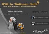 4Videosoft DVD to Walkman Suite screenshot