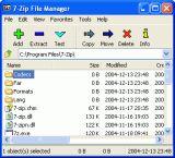 7-Zip screenshot