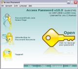 Access Password screenshot