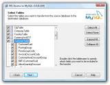 Access To MySQL screenshot