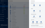 Acronis Backup for Virtual Host screenshot