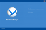 Acronis Backup Universal License screenshot