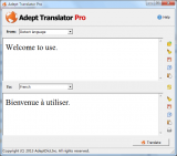 Adept Translator Pro Portable screenshot