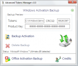 Advanced Tokens Manager screenshot