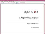 Agena screenshot