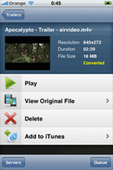 Air Video Server screenshot