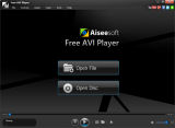 Aiseesoft Free AVI Player screenshot