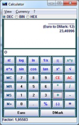 Alternate Calculator screenshot