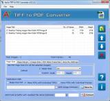Aplus TIFF to PDF Converter screenshot