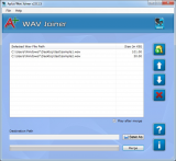 Aplus WAV Joiner screenshot