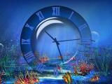 Aquatic Clock Screensaver screenshot