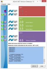 ASoft .NET Version Detector screenshot
