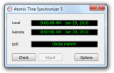 Atomic Time Synchronizer screenshot