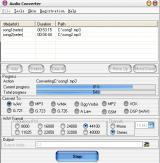 Audio Converter screenshot