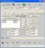 Audio Video Synchronizer screenshot