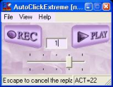 AutoClickExtreme screenshot