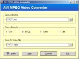 AVI MPEG Video Converter screenshot