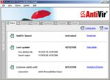 Avira Free Antivirus screenshot