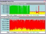 Bandwidth Meter Pro screenshot