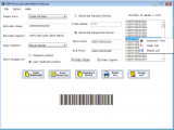Barcode Creator Software screenshot