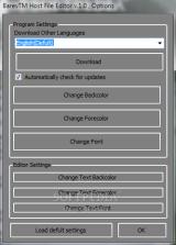 BarevTM Host File Editor screenshot