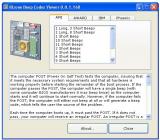 Beep Codes Viewer screenshot