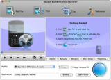 Bigasoft BlackBerry Video Converter for Mac screenshot