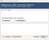 BitRecover EML Converter Wizard screenshot