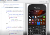 BlackBerry Java Plug-in for Eclipse screenshot