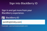BlackBerry Link screenshot