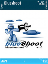 Blueshoot (J2me) screenshot