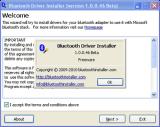 Bluetooth Driver Installer screenshot