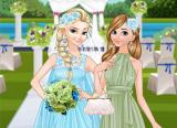 Bride Elsa and Bridesmaid Anna screenshot