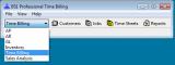 BS1 Professional Time Billing screenshot
