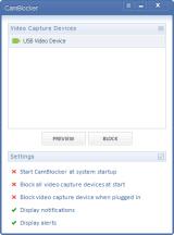 CamBlocker screenshot