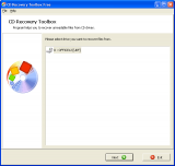 CD Recovery Toolbox Free screenshot