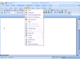 Classic Menu for Office 2007 screenshot